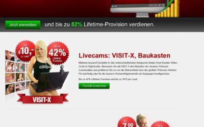 VX Cash Erotik Partnerprogramm Online Geld verdienen